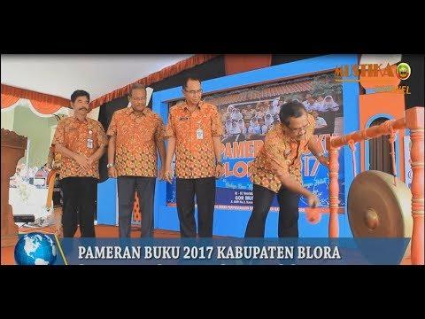 PAMERAN BUKU BLORA 2017, BUPATI AJAK MASYARAKAT GEMAR MEMBACA